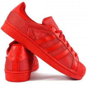 Adidas Superstar Collegiate Red