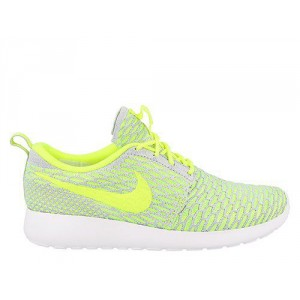 Nike Wmns Roshe One Flyknit Electric Green