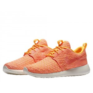 Nike Wmns Roshe One Flyknit Laser Orange