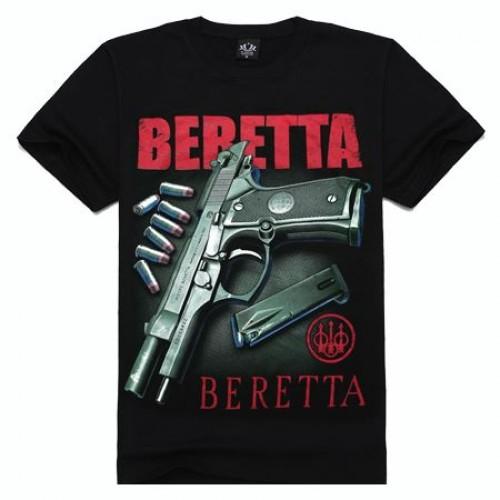 3D Майка Beretta Pistol